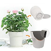 Laliva Flora Smart Flower Pot Monitor Digital Plants Grass Soil Water Light Tester Sensor