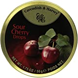Cavendish & Harvey Sour Cherry Drops 1.75oz (7 Pack)