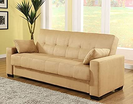 Amazoncom Pearington Mia Microfiber Sofa Sleeper Bed Lounger