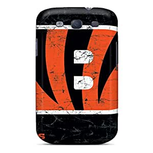 Samsung Galaxy S3 Nfc6176MQYP Support Personal Customs Vivid Cincinnati Bengals Image Scratch Protection Hard Cell-phone Cases -KerryParsons