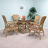 Amazon.com: Rattan - Kitchen & Dining Room Furniture / Furniture ...