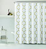 Gold Shower Curtain VCNY Home Ogee Shower Curtain, 72x72, Gold