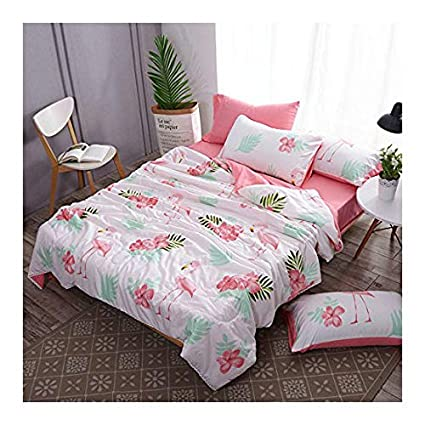 Amazon Com Kfz Bed Set Summer Quilt Washed Cotton Comforter And