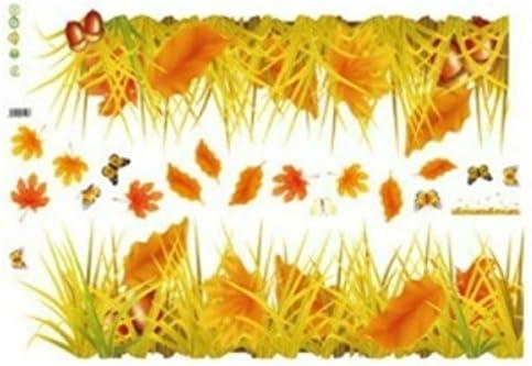 Amazon ウォールステッカー 花 紅葉 植物 ステッカー 秋 和室 木 風景 シール 壁紙 どんぐり 落ち葉 もみじ 枯れ葉 つた 北欧 英字 和調 英文 キッチン トイレ アジアン 英字 フラワー 葉 蝶 文字 玄関 枝 和風 1000