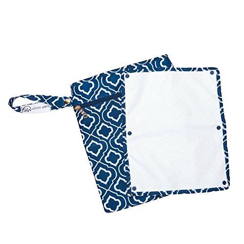 Sarah Wells Pumparoo Wet/Dry Bag for Breast Pump Parts (Navy)