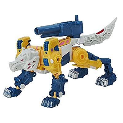 Transformers Generations Titans Return Titan Master Monxo and Wolfwire: Toys & Games