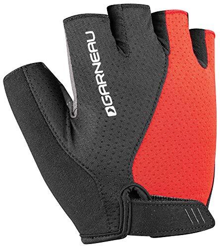 Louis Garneau Men's Air Gel Ultra Bike Gloves, Black/Red, -