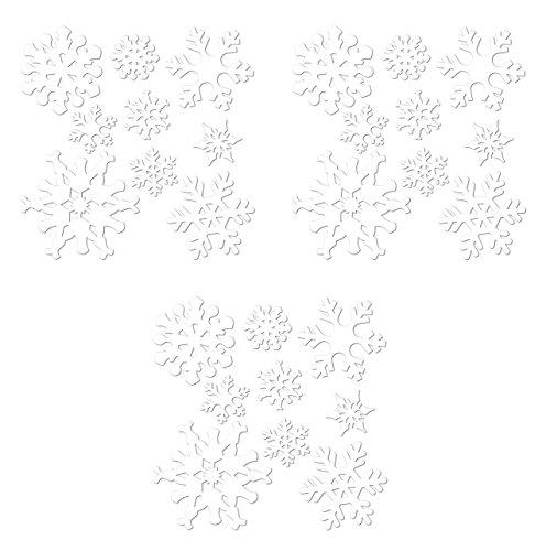 Beistle S22866AZ3 snowflake cutouts,