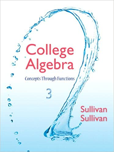 College algebra concepts through functions 3rd edition michael college algebra concepts through functions 3rd edition michael sullivan michael sullivan iii 9780321925749 amazon books fandeluxe Image collections