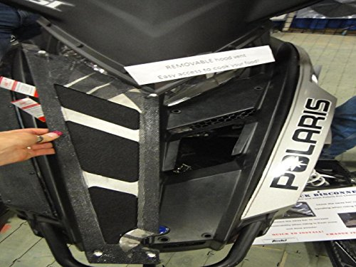 2 Cool Airvents Polaris Pro Ride Removable Hood Vent PO-128 by Unknown