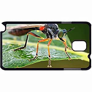 New Style Customized Back Cover Case For Samsung Galaxy Note 3 Hardshell Case, Back Cover Design Legged Robberfly Personalized Unique Case For Samsung Note 3