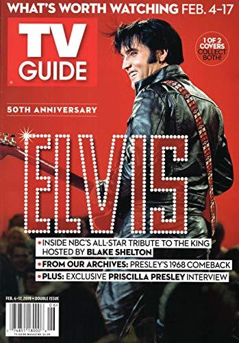 TV Guide Magazine February 4-17 2019 Elvis Presley Norman Reedus Supernatural