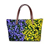 Vintage floral women bag large capacity bag lady fashion style flower bag Messenger Bag Lady.