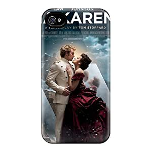 For Iphone 4/4s Protector Case Anna Karenina Movie Phone Cover