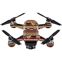 Skin For DJI Spark Mini – Western Horses | MightySkins Protective, Durable, and Unique Vinyl Decal wrap cover | Easy To Apply, Remove, and Change Styles | Made in the USA