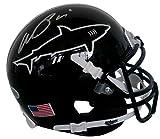 Al Pacino Signed Any Given Sunday Miami Sharks Mini Helmet Beckett BAS