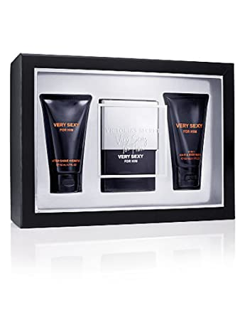 15bc1756b5d Amazon.com   Victoria s Secret Give Him VERY SEXY For Him Cologne Perfume  Gift Set 3 Pieces   Fragrance Sets   Beauty