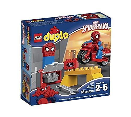 LEGO Super Heroes Spider-Man Web-Bike Workshop Building Kit by LEGO