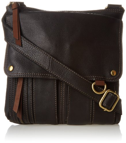Fossil Morgan Crossbody, Black, One Size