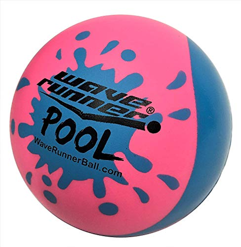 Wave Runner Pool Ball #1 Water Ball for Skipping and Bouncing The Perfect Pool Ball and Ocean Ball (Mega Pool)