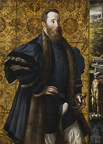 [Oil Painting 'Parmigianino Pedro Maria Rossi Or Roscio Count Of San Segundo Ca. 1534 ' Printing On Polyster Canvas , 24 X 33 Inch / 61 X 85 Cm ,the Best Kids Room Decor And Home Artwork And Gifts Is This Vivid Art Decorative Prints On] (Count Gothic Costumes)