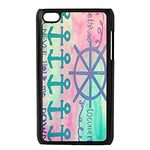 Custom Anchor Back Cover Case for ipod Touch 4 JNIPOD4-480