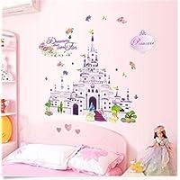 Princess Castle Girl Wall Decal Sticker Home Decor Vinyl...