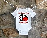 Ladybug 1st And 2nd Birthday Shirt For Girls, Ladybug 1st Birthday Shirt For Toddlers, Ladybug 2nd Birthday Shirt For Toddlers
