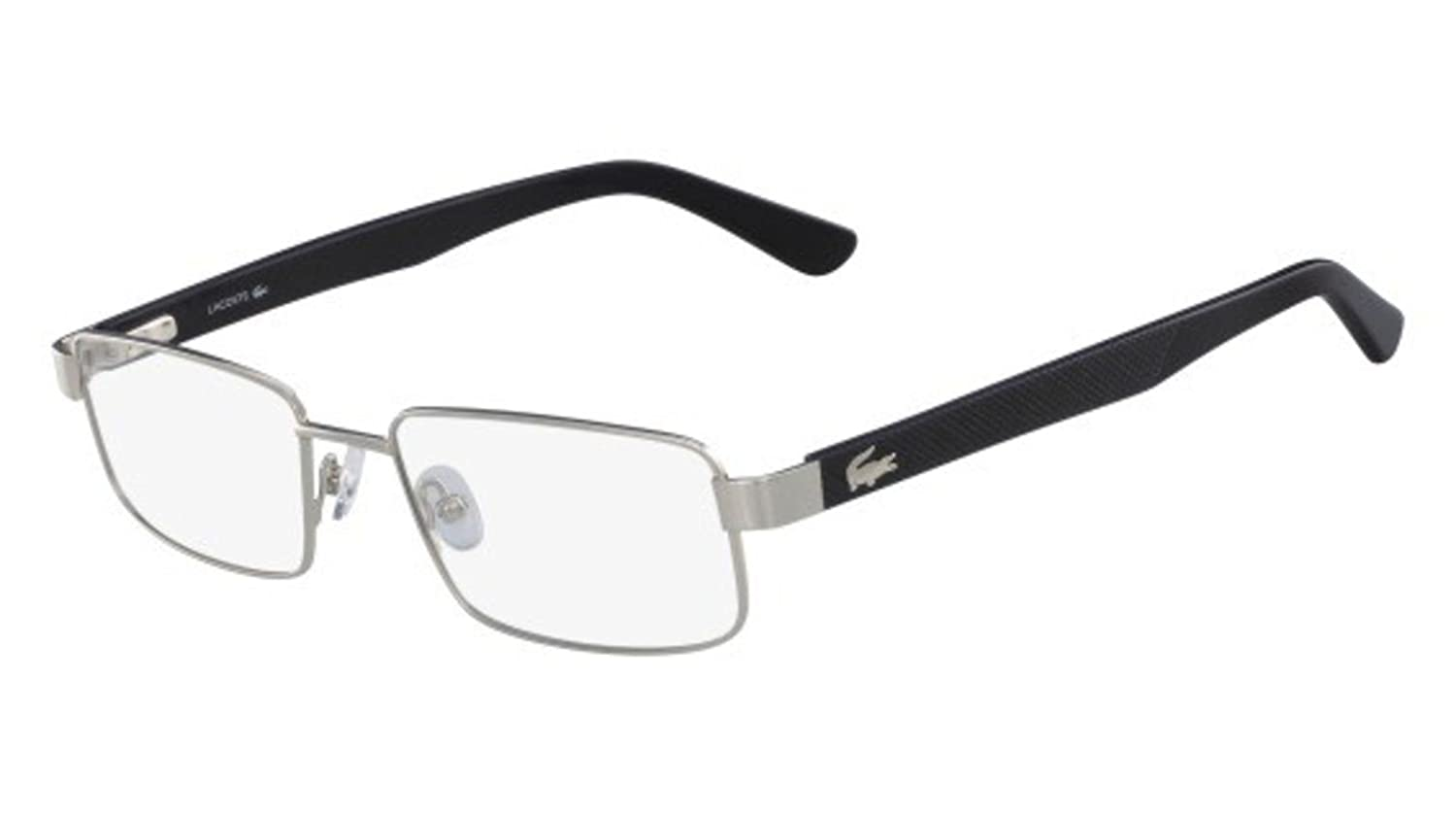 f4d45060313 Eyeglasses LACOSTE L 2238 045 SILVER at Amazon Men s Clothing store