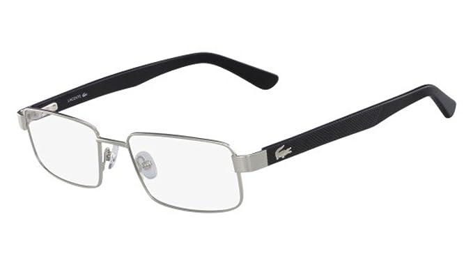 Lacoste L2238 045 54, Monturas de Gafas Unisex-niños, Silver