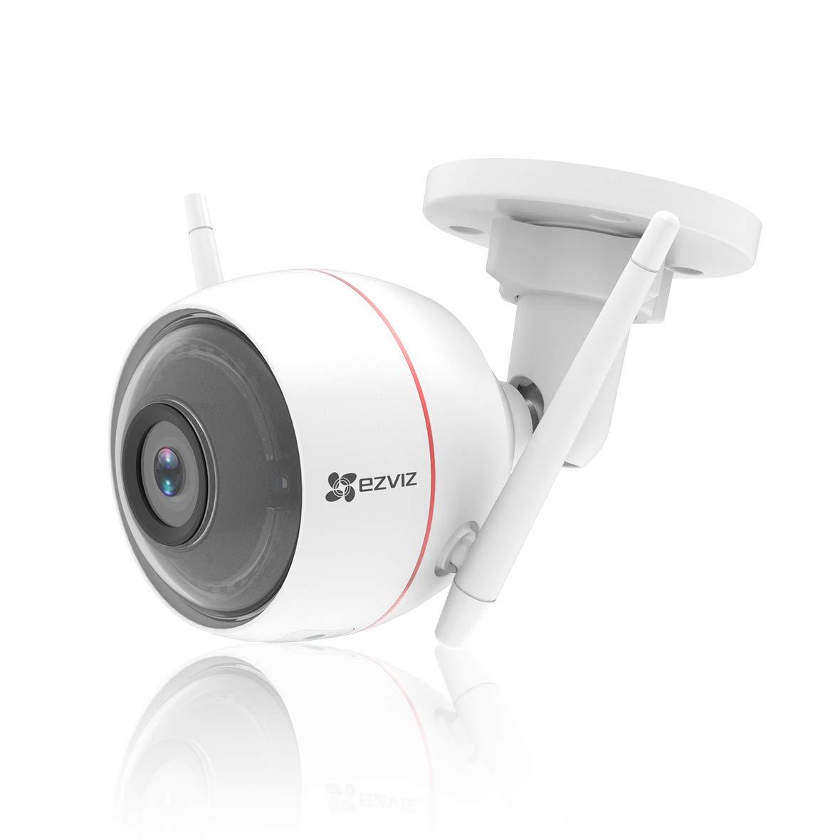 EZVIZ 200万画素 防犯カメラ 屋外 防犯カメラ 200万画素 強力Wi-Fi 警報音 防塵防水 日本語説明書 ワイヤレス B07JQGVCS7 LEDライト付 SDカード無 C3W microSDカードなし B07JQGVCS7, 高品質:ee69a005 --- krianta.ru