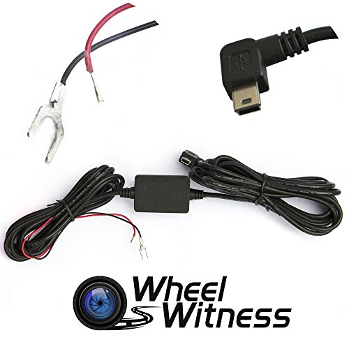 WheelWitness Hardwire Installation Dashboard Charger