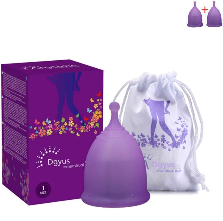 Copa menstrual, 2 tazas menstruales (una sola pieza ...