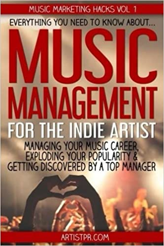 Music management for the indie artist everything you need to know music management for the indie artist everything you need to know about managing your music career exploding your popularity getting discovered by a top malvernweather Image collections