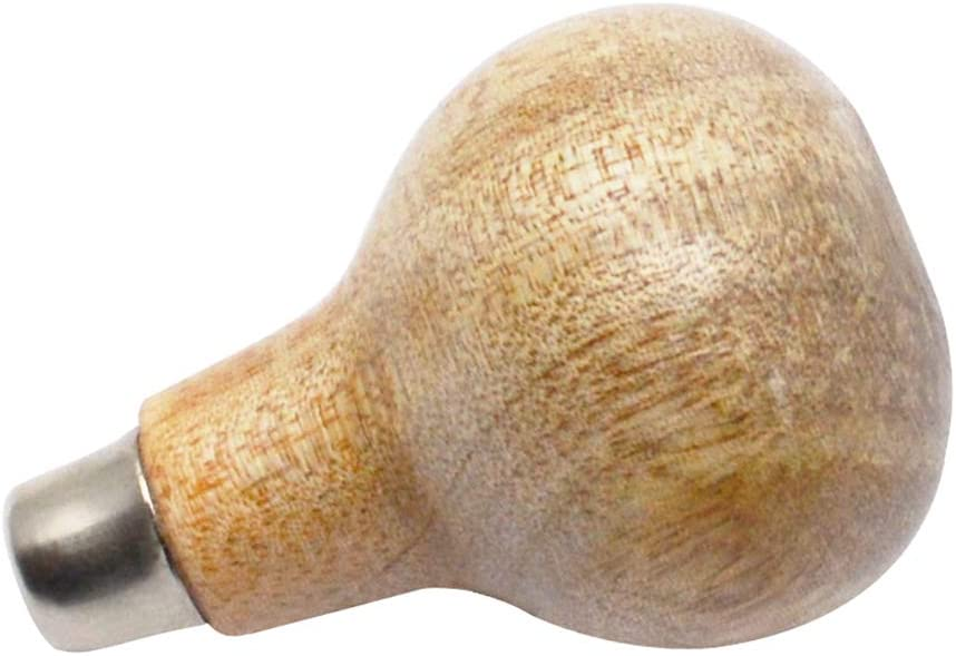 Wooden Graver Handle Jewelry Making Engraver Holder Mushroom-Shaped