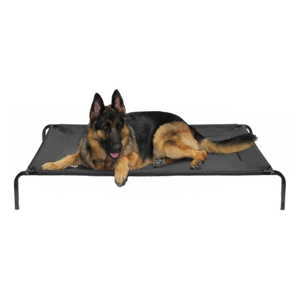 Go Pet Club PC34 Elevated Cooling Pet Cot Bed (Size  39Inch LengthX24Inch WidthX6Inch Height)