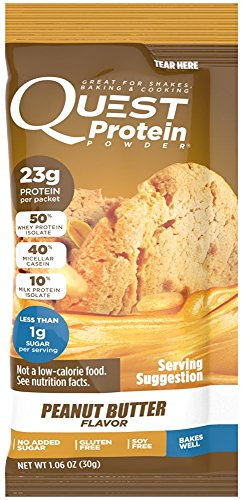 Quest Nutrition Quest Protein ELEije Powder, Peanut Butter 24 Count by Quest Nutrition