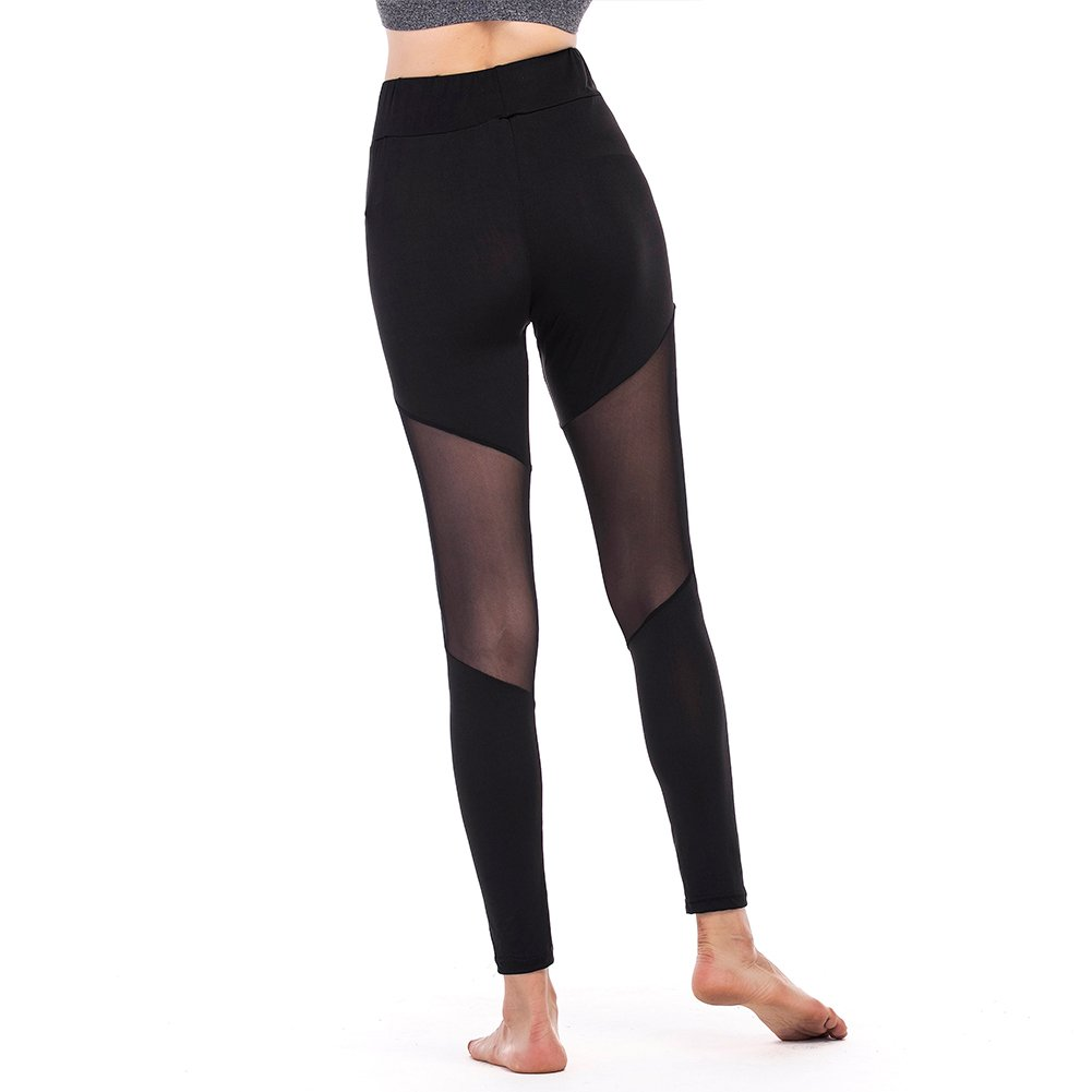 Women Yoga Leggings Capri Pants ibowo for Girls Workout Sport Running