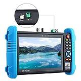 H.265 4K 7'' Tester Monitor SDI TVI CVI AHD VGA CVBS 6in1 IP Security HDMI Camera Video CCTV Test Onvif TFT Screen 12V