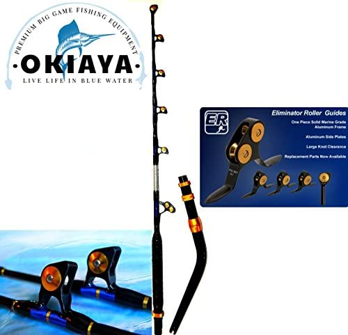 OKIAYA Venom PRO Bent Butt Fishing Rod 50-80 LB. The REEPER PAC Bay Guides