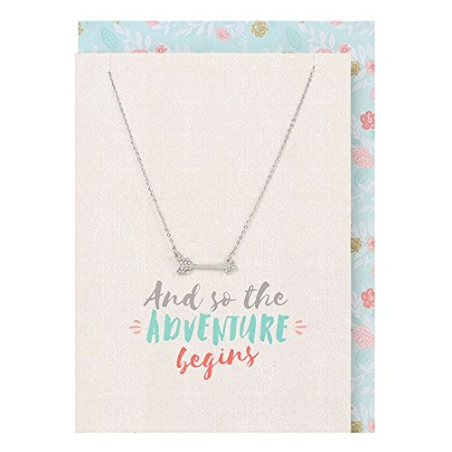 - So The Adventure Begins Necklace And Card