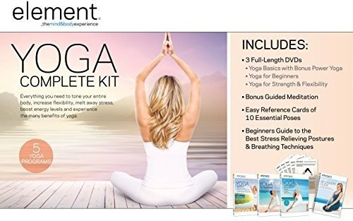 DVD : Element: Complete Yoga Kit (3 Disc, Oversize Item Split)