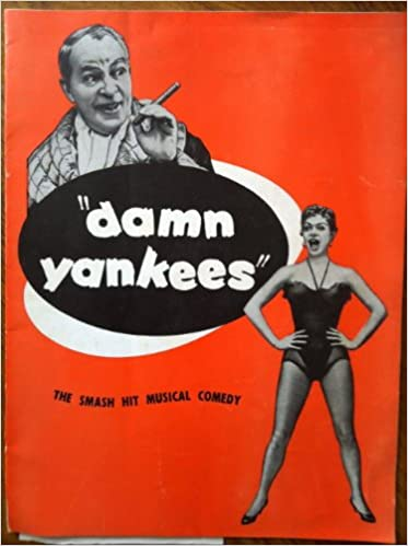 Damn Yankees Program From 1956 Production By LA Civic Light Opera Assoc George Abbott Douglass Wallop Amazon Books
