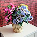 Artificial-Flowers-1X-Bouquet-Artificial-Simulation-Silk-Flower-Pansy-Artificial-Plant-Wedding-Party-Home-Hotel-Table-DecorationDouble-Purple