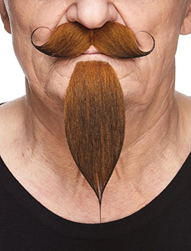 Mustaches Napoleon III Imperial Fake Beard, Ginger ()