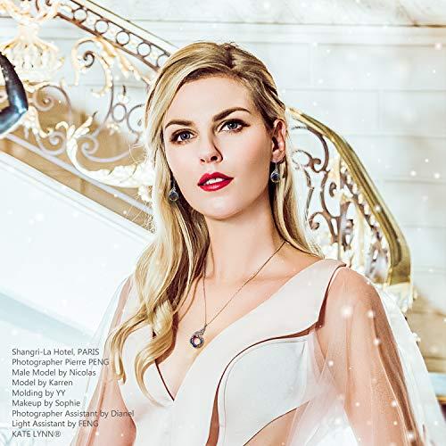 Kate Lynn Woman Swarovski Crystals Phoenix Pendant Necklace Xmas Gifts For Women Her Birthday