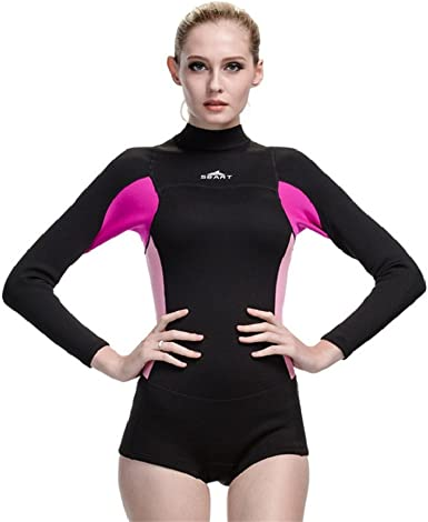 Two Bare Feet Arabella 2mm Superstretch One Piece Womens Neoprene Wetsuit