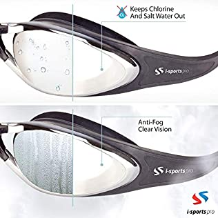 i-Sports Pro Swimming Goggles
