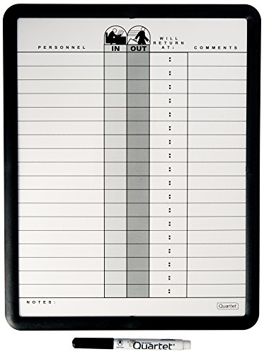 Quartet Matrix In Out Board 11 X 16 Inches Magnetic