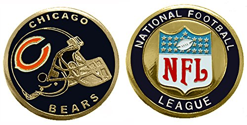 - Collectible Challenge Coin- Logo Poker- Lucky Chip for Bears